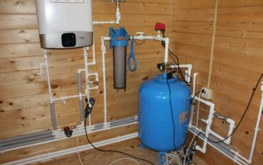 Водоснабжение дома из колодца, подключение под ключ